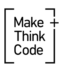 MakeThinkCode@PNCA Logo