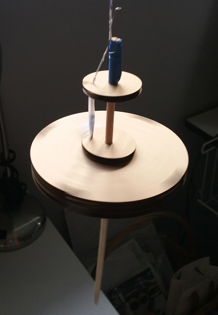 image of the laser-cut spindle